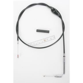 Drag Specialties Alternative Length Cruise Control Black Vinyl Idle Cable for Custom Height/Width Handlebars  - 0651-0655