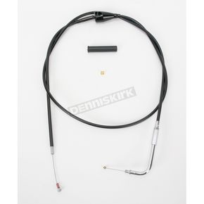 Drag Specialties Alternative Length Cruise Control Black Vinyl Idle Cable for Custom Height/Width Handlebars  - 0651-0657