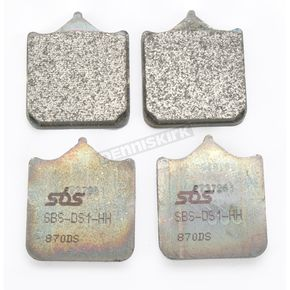 SBS Dual Sintered Compound Brake Pads - 870DS