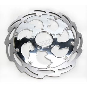 RC Components Assault Front Left Floating Two-Piece Brake Rotor - ZSS-BUSA-LF-95