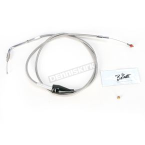 Barnett 47 1/2 in. Stainless Steel Idle Cable for Models w/Cruise Control - 102-30-41035-8