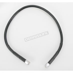 21 in. Black Vinyl-Coated Stainless Steel Brake Line - 1741-2710
