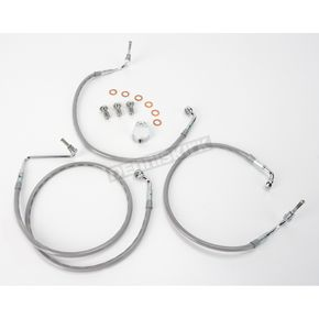 Goodridge Front OEM-Style Brake Line Kit - 51.25 in. L - HD9242-A+10