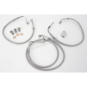 Goodridge Front OEM-Style Brake Line Kit - 53.25 in. L - HD9242-A+12