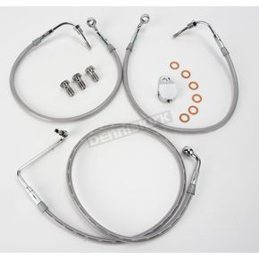 Goodridge Front OEM-Style Brake Line Kit - 47.25 in. L - HD9242-A+6