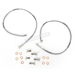 Goodridge Stainless Steel Sportbike/Cruiser Brake Line Kit - SU2836-2FC