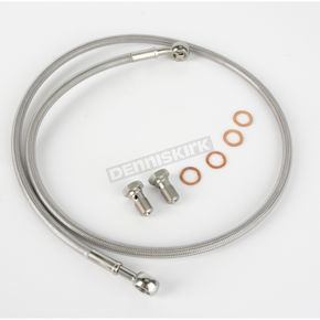 Kuryakyn Stainless Steel Rear Extended Brake Line Kit - 8737