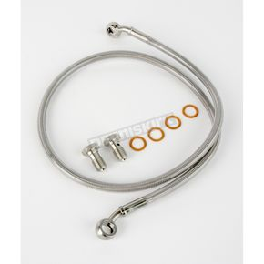Kuryakyn Stainless Steel Rear Extended Brake Line Kit - 8738
