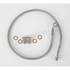 Kuryakyn Stainless Steel Rear Extended Brake Line Kit - 8743