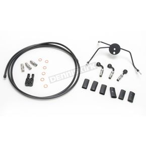 Magnum Black Pearl Designer Series Build Your Own Braided Dual Disc DOT Brake Line Kit with 7 foot Brake Line - 490500A
