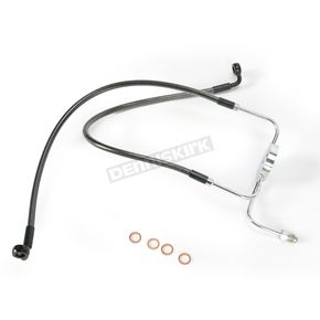Magnum Black Pearl Designer Series Dual Disc Lower Front Brake Line - 47004