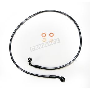 Magnum Black Pearl Designer Series 35 Degree Top Angle Custom Single-Disc Front Brake Line - 46138SW