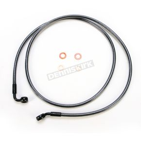 Magnum Black Pearl Designer Series 35 Degree Top Angle Custom Single-Disc Front Brake Line - 46160SW