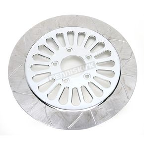 Lyndall Racing Brakes 11.5 in. Front Chrome Millennium 20 Spoke Lug-Drive Brake Rotor - NVLD-115FCM20C