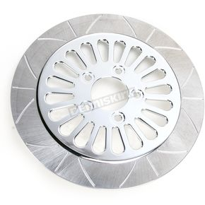 Lyndall Racing Brakes 11.5 in. Rear Chrome Millennium 20 Spoke Lug-Drive Brake Rotor - NVLD-115RCM20C