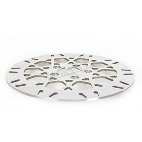 Drag Specialties Rear 11.5 in. Mesh Polished Stainless Steel Brake Rotor - 1710-2026