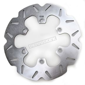 EBC Rear Stainless CX Extreme Vee Brake Rotor - MD6105CX