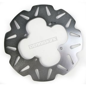 EBC Rear Stainless CX Extreme Vee Brake Rotor - MD6316CX