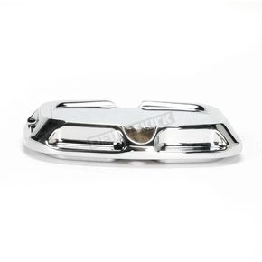 Arlen Ness Rear Chrome Beveled Brake Master Cylinder Cover - 03-407