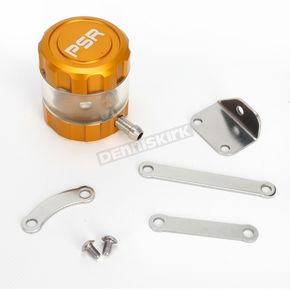 Powerstands Racing Gold/Clear Front Brake Reservoir - 04-01805-23