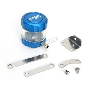 Powerstands Racing Blue/Clear Front Brake Reservoir - 05-01805-25