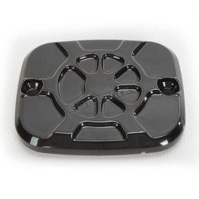 LA Choppers Decadent Black Powdercoat Brake Master Cylinder Cover - LA-F550-03B