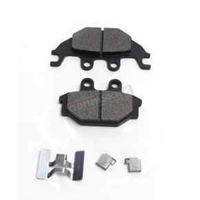 Drag Specialties Rear Semi-Metallic Brake Pads - 1721-2254