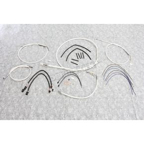 Magnum Sterling Chromite II Designer Series Handlebar Installation Kit for use w/10 in.-12 in. Ape Hangers w/ABS - 387672