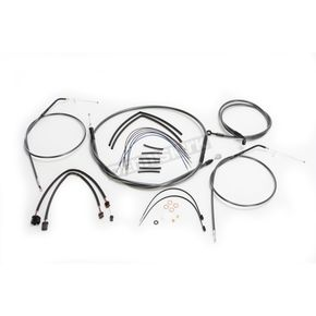Magnum Black Pearl Designer Series Handlebar Installation Kit for use w/10 in.-12 in. Ape Hangers (Non-ABS) - 487662