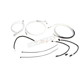 Magnum Sterling Chromite II Designer Series Handlebar Installation Kit for Use w/18 in.-20 in. Ape Hangers w/ABS - 387703