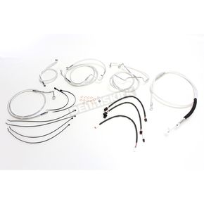 Magnum Sterling Chromite II Designer Series Handlebar Installation Kit for Use w/12 in.-14 in. Ape Hangers w/ABS - 387721