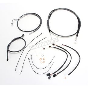 Magnum Black Pearl Designer Series Handlebar Installation Kit for use w/15 in.-17 in. Ape Hangers w/ABS - 487732