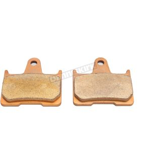 Drag Specialties Rear Premium Sintered Metal Brake Pads OEM #41300053 - 1721-2458