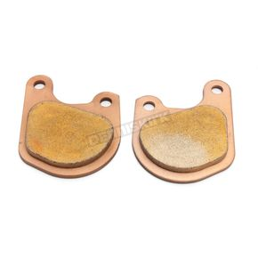 Drag Specialties Premium Sintered Metal Brake Pads for BDL/GMA F Caliper - 1721-2474