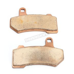 Drag Specialties Front/Rear Premium Sintered Metal Brake Pads - 1721-2483