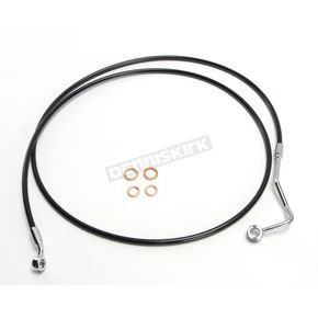 Black XR Stainless Extreme Response ABS Upper Brake Line Kit - +6