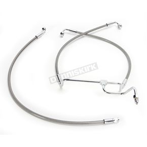 Magnum Natural XR Stainless Extreme Response Front Brake Line Kit - SSC1314-27