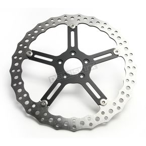 15 in. Right Side Big Brake Jagged Floating Rotor Kit - 02-992