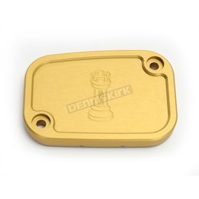 Rooke Customs Gold Front Master Cylinder Cover - R-C128-T6