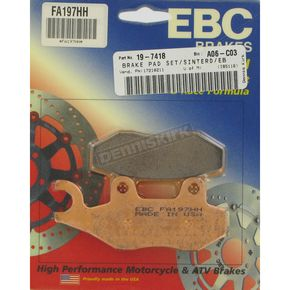 EBC Double H Sintered Metal Brake Pads  - FA197HH