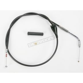 Drag Specialties Black Vinyl Cruise Idle Cable - 0651-0179