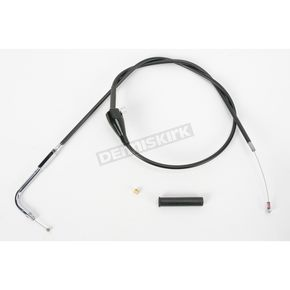 Drag Specialties Black Vinyl Cruise Idle Cable - 0651-0183