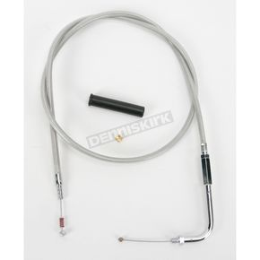 Drag Specialties Alternative Length Braided Idle Cable - 0651-0243