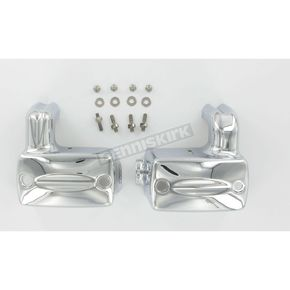 Kuryakyn Deluxe Master Cylinder Covers - 9188