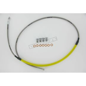 Goodridge Yellow Front Brake Line Kit - 63009
