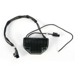 Drag Specialties Black Voltage Regulator - 21120833