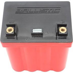 Ballistic Performance EVO2 12-Volt LifeP04 Motorcycle Battery - 100-014