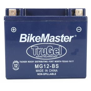 Bikemaster TruGel 12-Volt Battery - MG12-BS