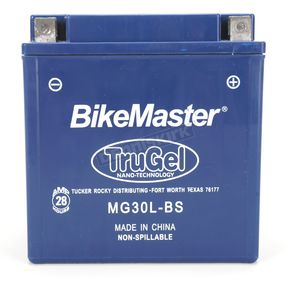 Bikemaster TruGel 12-Volt Battery - MG30L-BS
