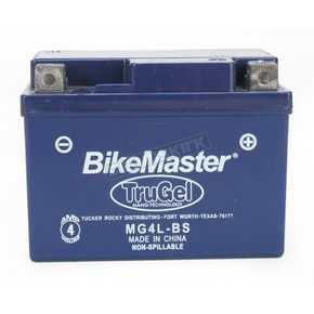 Bikemaster TruGel 12-Volt Battery - MG4L-BS